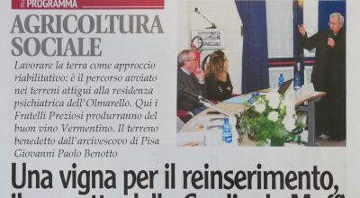 Toscana Oggi, 16 febbraio 2020 _ Il Percorso di Agricoltura Sociale della Fondazione Maffi