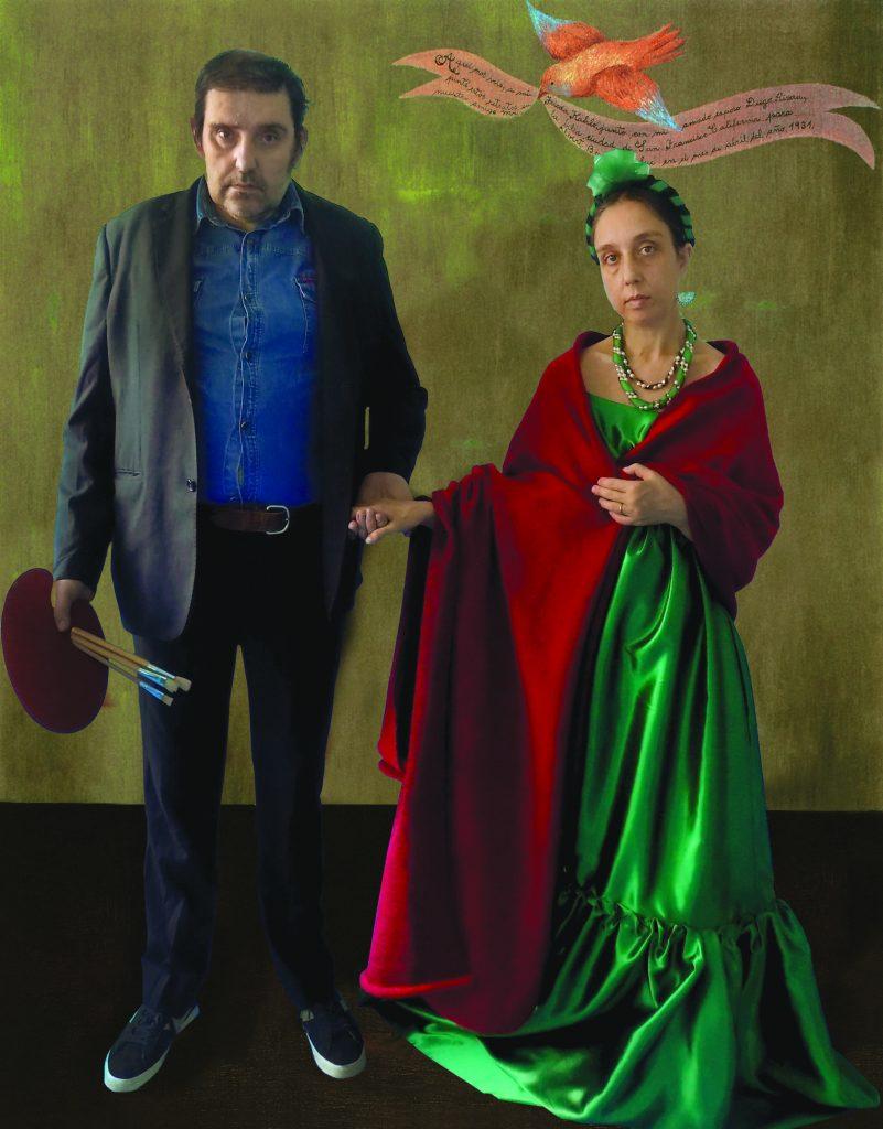 """Maurizio e Simona in """"Frida e Diego"""" di Frida Kahlo"""